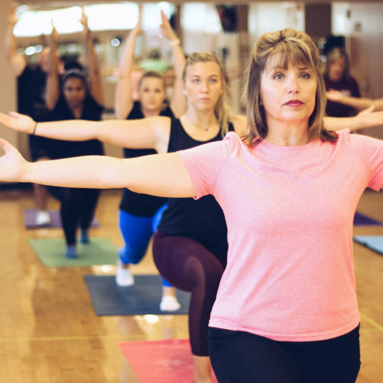 exercise class at parkside